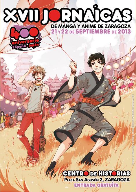 Cartel XII Jornaicas Manga 2013